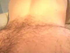 Bareback Big Dick Banging and cumming on a Hairy Ass