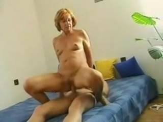 Horny Mature Mother and her Young Son free