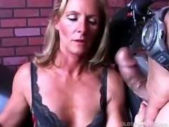 Gorgeous MILF in stockings gets shafted free