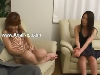 Sleeping japanese beauty ass banged