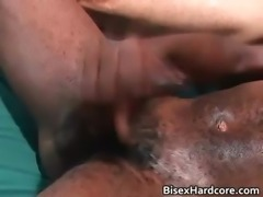Incredible steamy bi-sexual suck