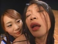 Japanese JK Flogging Then Kissing Her Teacher