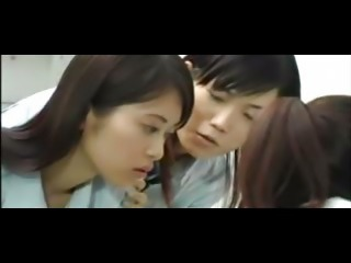 Jap Schoolgirl Lesbian Orgy
