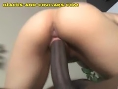 Big Boobed MILF Enjoys Black free