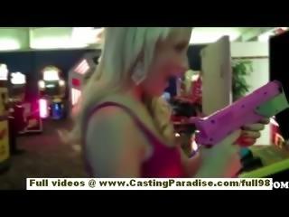 Mallory Rae Murphy amateur teen with big ass flashing in public