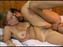 Granny Got Her Hairy Old Ass Anal Fucked free