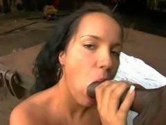 Laura Lion enjoys black dick in her holes