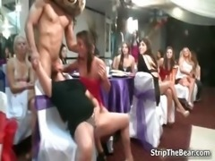 Horny male strippers getting a blowjob part4