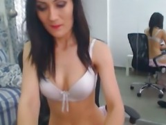 Sexy Striptease and Pussy Rubbing