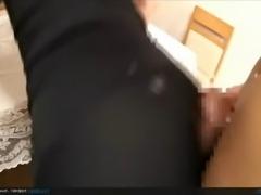 Spandex buttjob