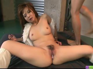 Mizuki Ishikawa Hot MILF in hardcore action
