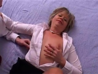 Sexy mature is dressed to fuck, and she is going to be fucked!