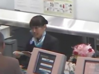 The flight attendant 1