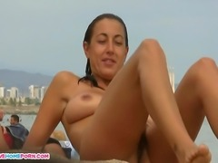Here Is Amazing Video Of Tanned angel with large melons