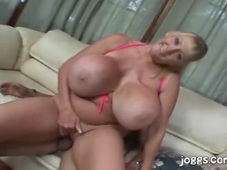 Sexy MILF Miss Kleevage gets some hardcore time.