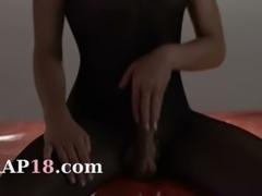 Hot princess in pantyhose finger