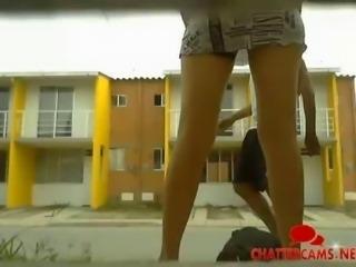 No Panties Gardening Spy Cam