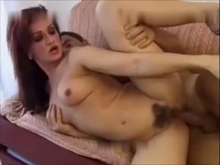 Sexy italian redhead MILF