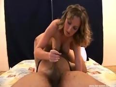 Handjob with Petra