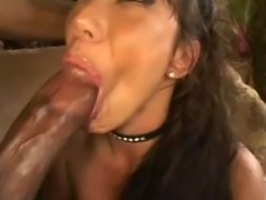 Eva takes Jack's big dick up the ass