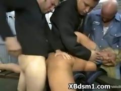 Alluring BDSM Chick Dom Sex
