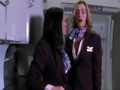 CFNM femdom air hostesses fuck passangers free