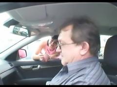 Grandpa giving cock to babe