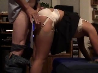 Just a naughty housewife and hubby loves it