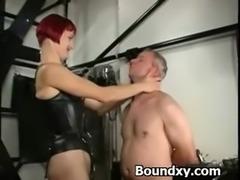 Humiliation Domination For Slut In PVC Fetish