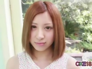 Bashful Japanese Teens Teasing