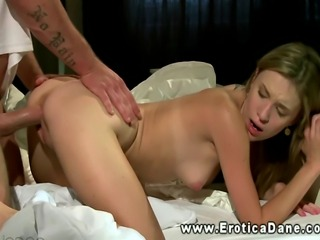 Babe feels his love from behind when using his manhood HD