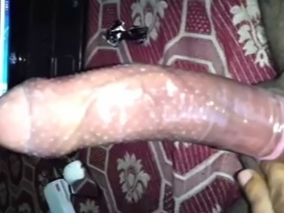 condom covered Indian 9 incher