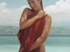 Sophie Marceau full nude on beach