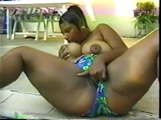 Sunshine (Black American, BBW) & Byron Long