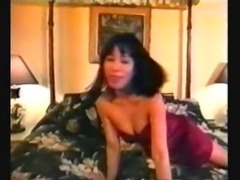 Hana Ku (c.1991) from solo to threesome (240p)