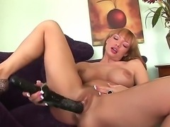 Damn, just look at the black rubber cock that Maya Hills is fucking herself...