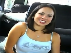 Charming amateur Tina is where she belongs finally  on the Bang Bus! Watch...