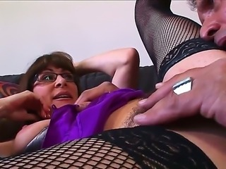 Alexandra Silk M and Herschal Savage are enjoying a mature hardcore fuck session