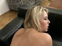 Having pleased Rocco Siffredi with some sucking, Kitty Jane decides to go even further and gets down on all fours for him. Welcome to my little asshole, Mr. Siffredi!