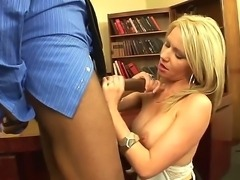 Take a look at the stunning whore, her name is Ashley Winters and that blonde is dreaming only about blowjobs, definitely worth to see how her mouth will be penetrated!