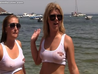 I spotted these two girls on the beach one afternoon. The shoot was full of...