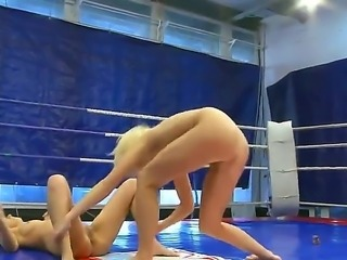 Do you want to relax watching hot catfight between two sexual chicks Diana Stewart and Larah Both gals look amazing and gonna expose before having wrestling on camera.