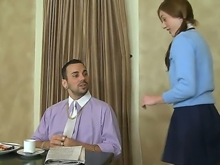 Kali Kenzington dons a school uniform and informs Voodoo about her intentions...