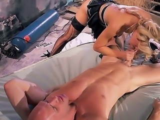 The world will never be the same and you as well when you see what Cherie Deville is doing to Johnny Sins. He is going to be in a serious problem. Her pussy is the serious threat.