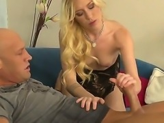 Christian XXX sticks his immense bolt into the head of blonde Maia Davis. No...