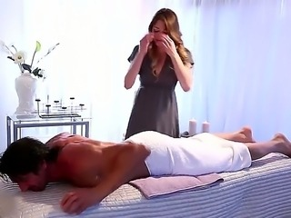 Jessie the awesome massage girl is