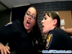 CFNM FEMDOM MILF officers demanding fuck free