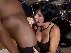 Lonely MILF Shay Fox finally has found a descent cock for her pussy. That...