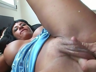 Beautiful babe Daniela G is having her butt nicely penetrated by the sweetest...