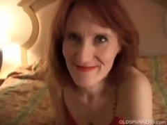 Slutty mature amateur fucks the cameraman free